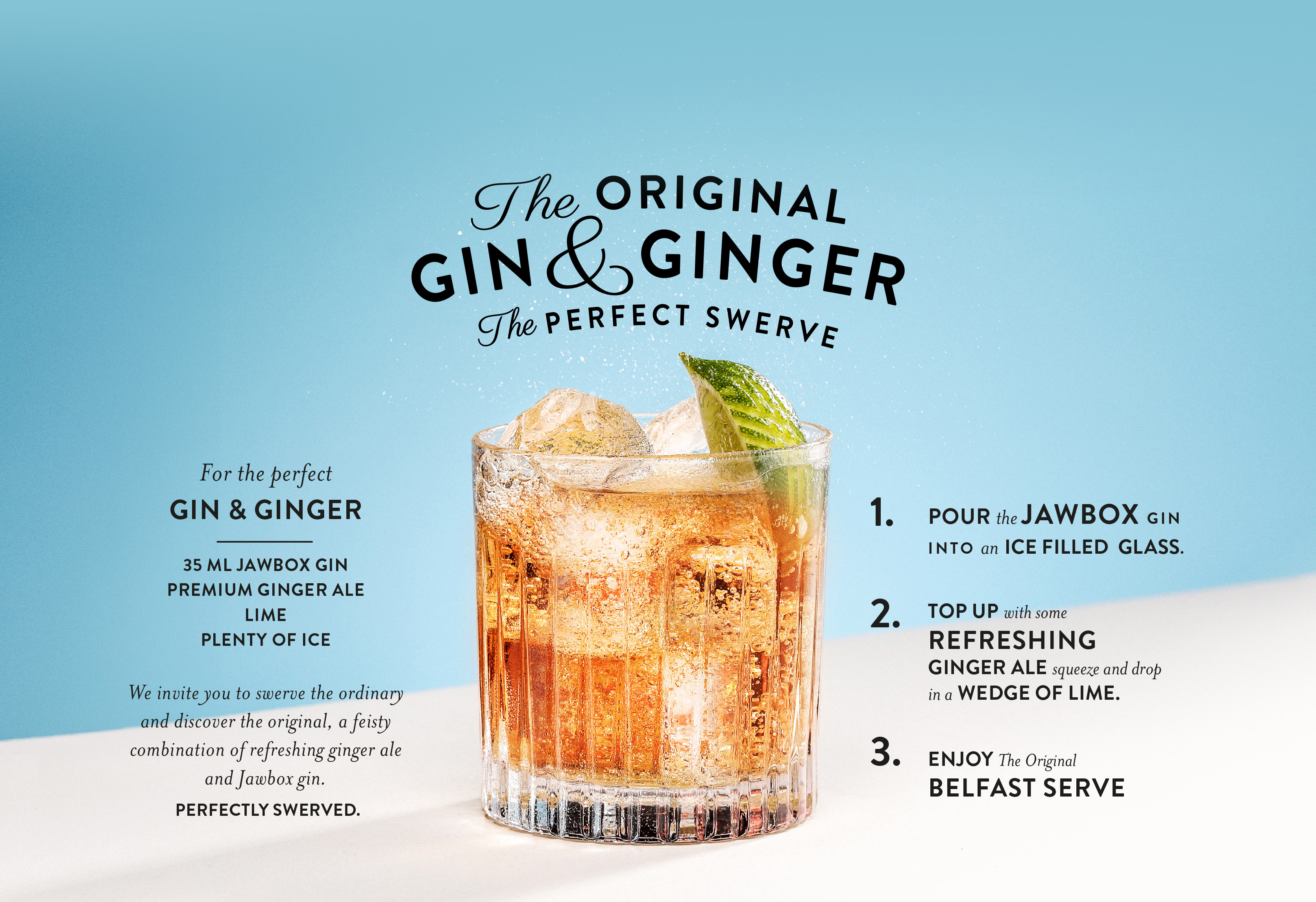 The Original Gin and Ginger The Perfect Swerve