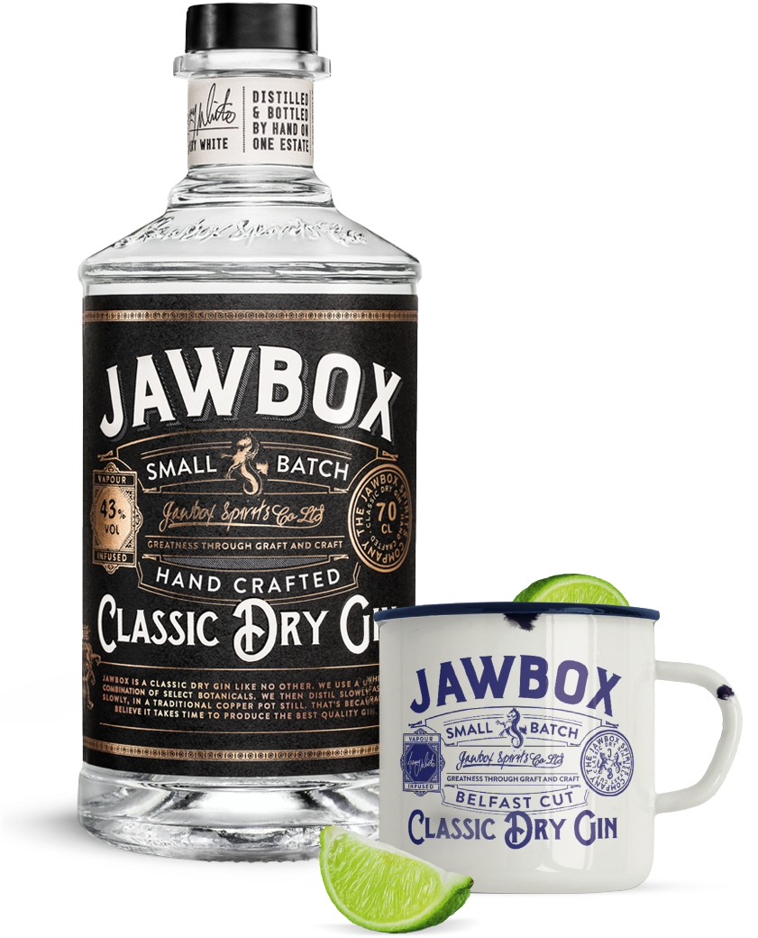 Jawbox Small Batch Gin